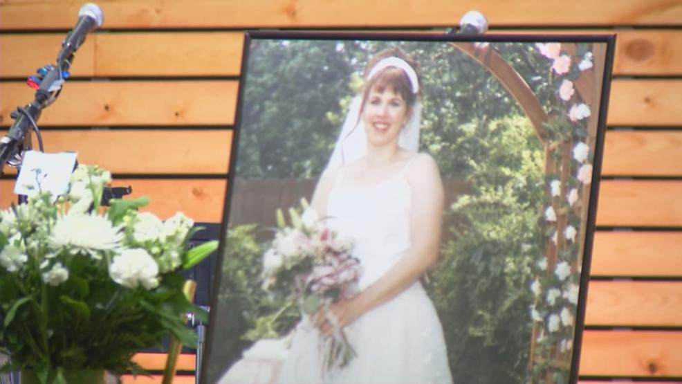 More than one hundred family, friends, co-workers and congregation members gathered at the Vineyard Christian Church in Pataskala to honor the life of 48-year-old Cindy Krantz Wednesday evening. (WSYX/WTTE)