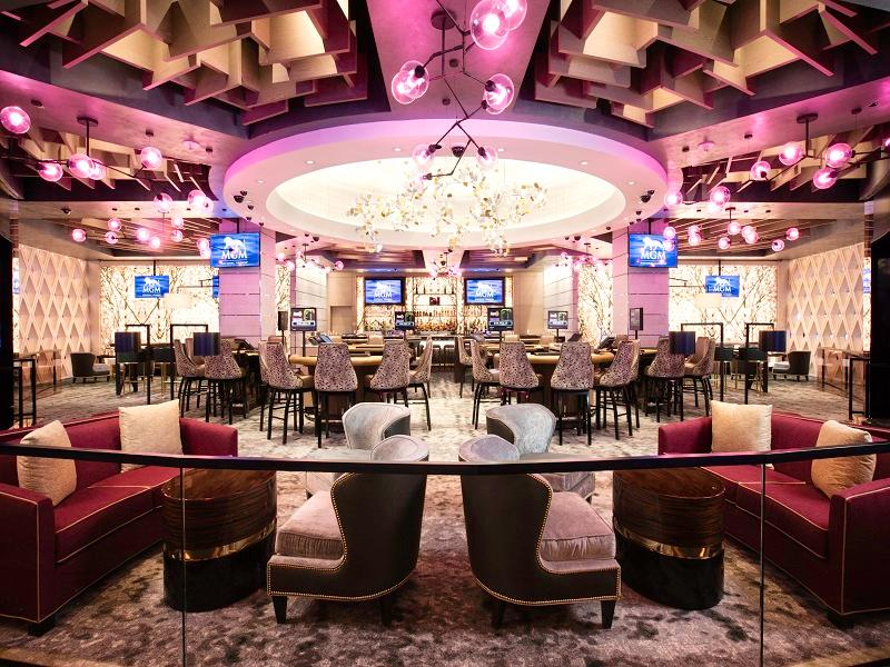 The $75,000 rum cocktail is sold both in MGM's Felt Bar and Blossom Bar at National Harbor. (Image: Courtesy MGM National Harbor)<p></p>