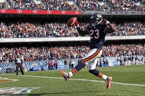 Washington, as always, will have to keep an eye on the explosive Devin Hester. Photo: Associated Press