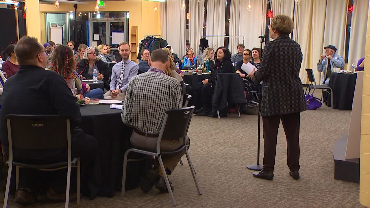 "Dire warnings Tuesday from nurses and caregivers at Swedish Medical Center, who lodged a vote of ""no confidence"" against hospital leadership with regard to patient care. (Photo: KOMO News)"