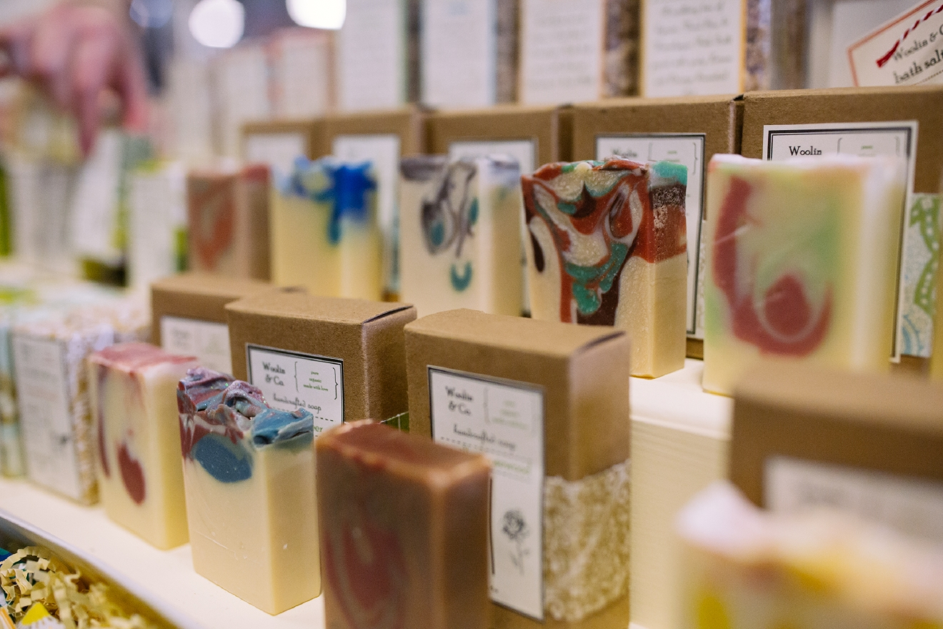 Woolin & Co, based out of Seattle, WA, offers luxurious soaps that are perfect for treating yourself or as gifts for friends and family. Learn more about their beautiful soaps or shop their products at http://www.woolinandco.com/. (Image: Joshua Lewis / Seattle Refined)