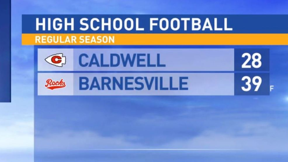 10.20.17:  Caldwell at Barnesville