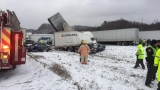 Husband, wife among 3 dead in Michigan interstate pileup