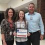 NorthWood Middle School student named top student leader in the state