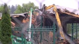 Crews demolish east grandstand at UO's Hayward Field