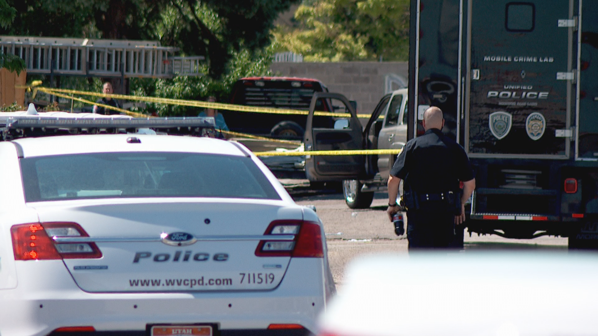 West Valley City Police say 28-year-old Lopez was wielding a knife Sunday morning when an officer ultimately had to shoot him in the torso to subdue him. (Photo: KUTV){&amp;nbsp;}<p></p>