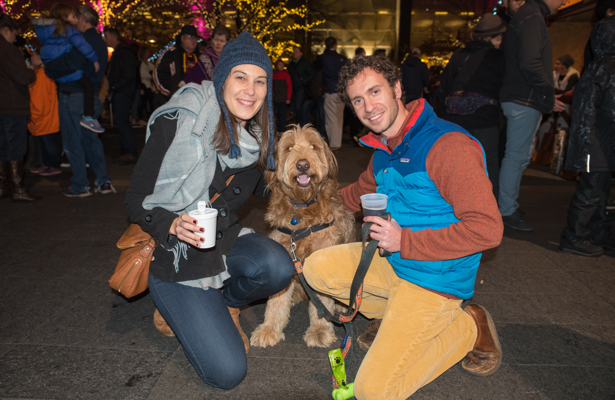 Nadia Mostovych and Justin Bates with Grizzly / Image: Sherry Lachelle Photography // Published: 12.3.17