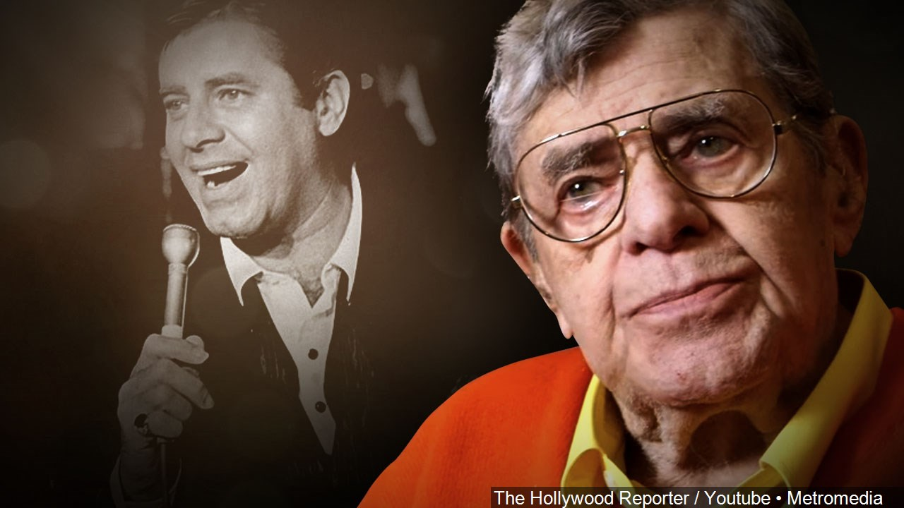 Entertainer Jerry Lewis died Aug. 20, 2017. He was 91. (The Hollywood Reporter/Youtube/MGN Online)<p></p>