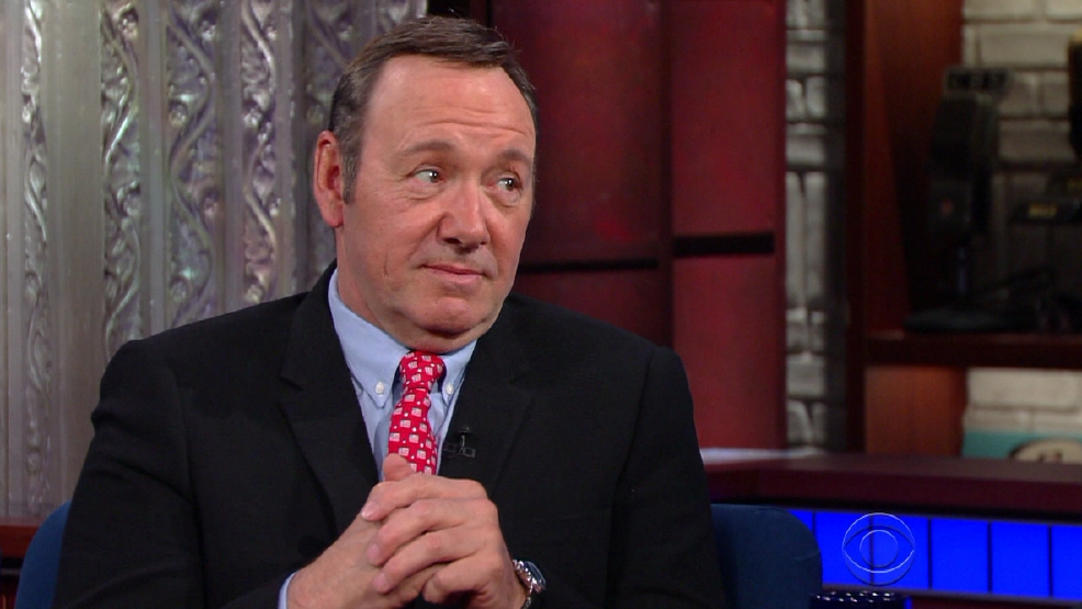 Kevin Spacey: 'House of Cards' can predict the future