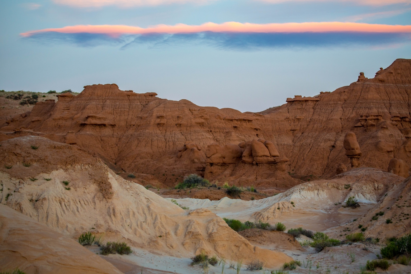 Goblin Valley Sunrise Landscape