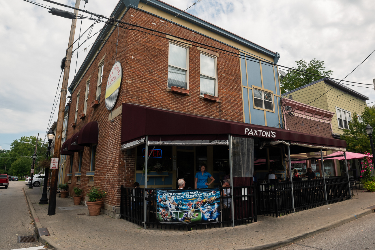A Little Miami classic, Paxton's Grill.  Open since 2000, Paxton's is a go-to, family-friendly grill with ample outdoor seating. ADDRESS:{ }126 W Loveland Avenue (45240) / Image: Allen Meyer // Published: 9.7.18