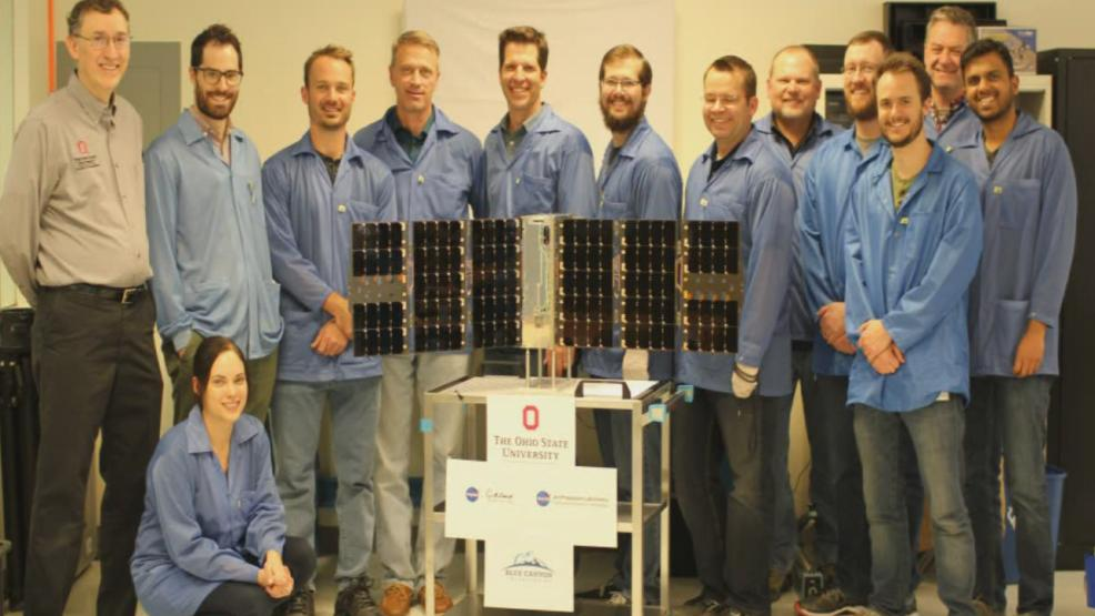 Ohio State University scientists sent their first satellite into space on Monday. It's named CubeRRT after Q-Bert, one of the most popular video games of the 1980's. (WSYX/WTTE)<p></p>