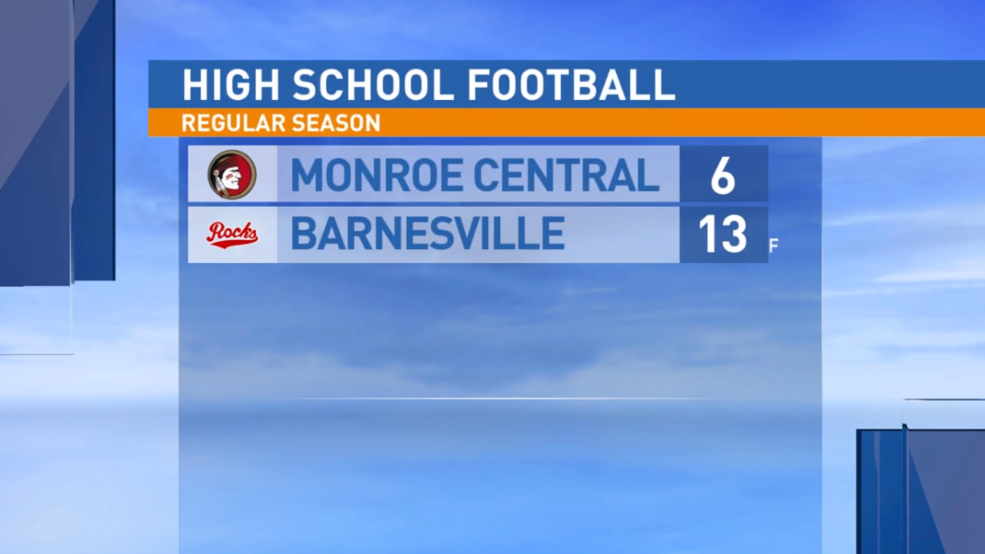 10.18.19 Highlights: Monroe Central at Barnesville