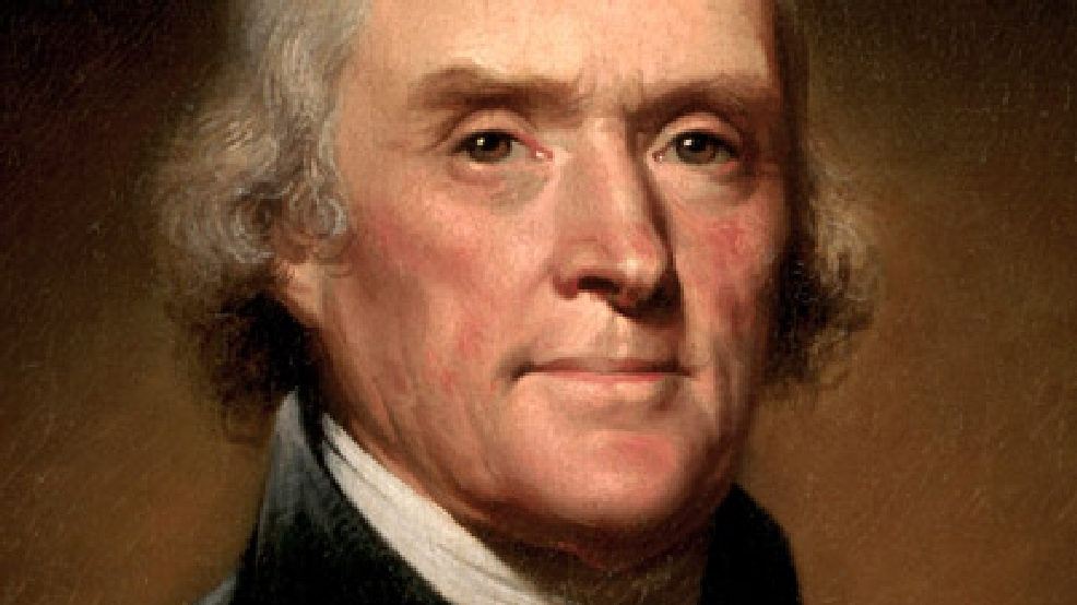 Thomas Jefferson statue at William & Mary defaced with ...