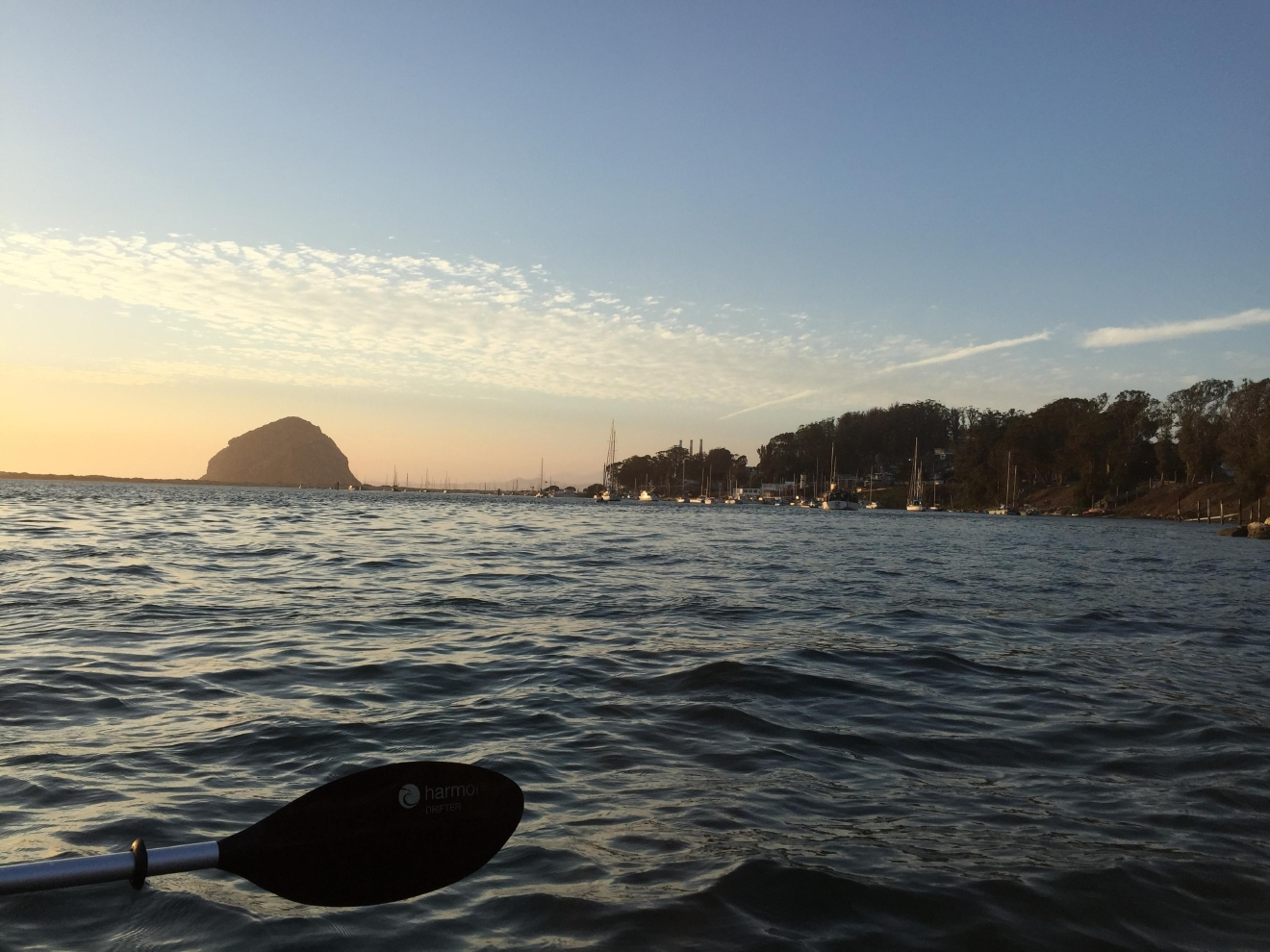 Central Coast Outdoors' sunset kayak paddle is a wonderfully unique way to experience Morro Bay.