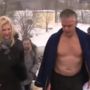 Huntsman Jr. takes shirtless, icy plunge on Russian television