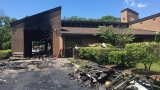 Fire starts at Fairfax County fire station, destroys roof and firetruck