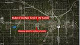 Man found shot in Omaha yard near high school