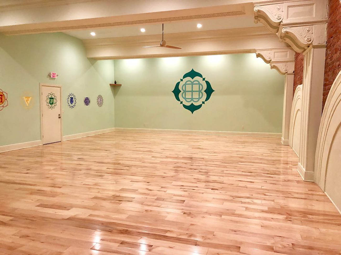 After the studio renovation{ }/ Image courtesy of Mint Yoga Studio // Published: 8.31.19