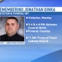 Funeral arrangements released for Officer Jonathan Ginka