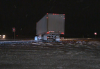 Semi crash in Shawano Co.