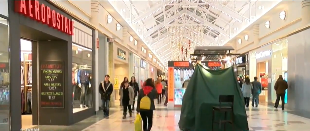 Shoppers spending more makes a merry season for retailers. (Photo credit: WHAM)
