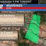 Flood Advisory in effect for various counties, including Ada and Boise.