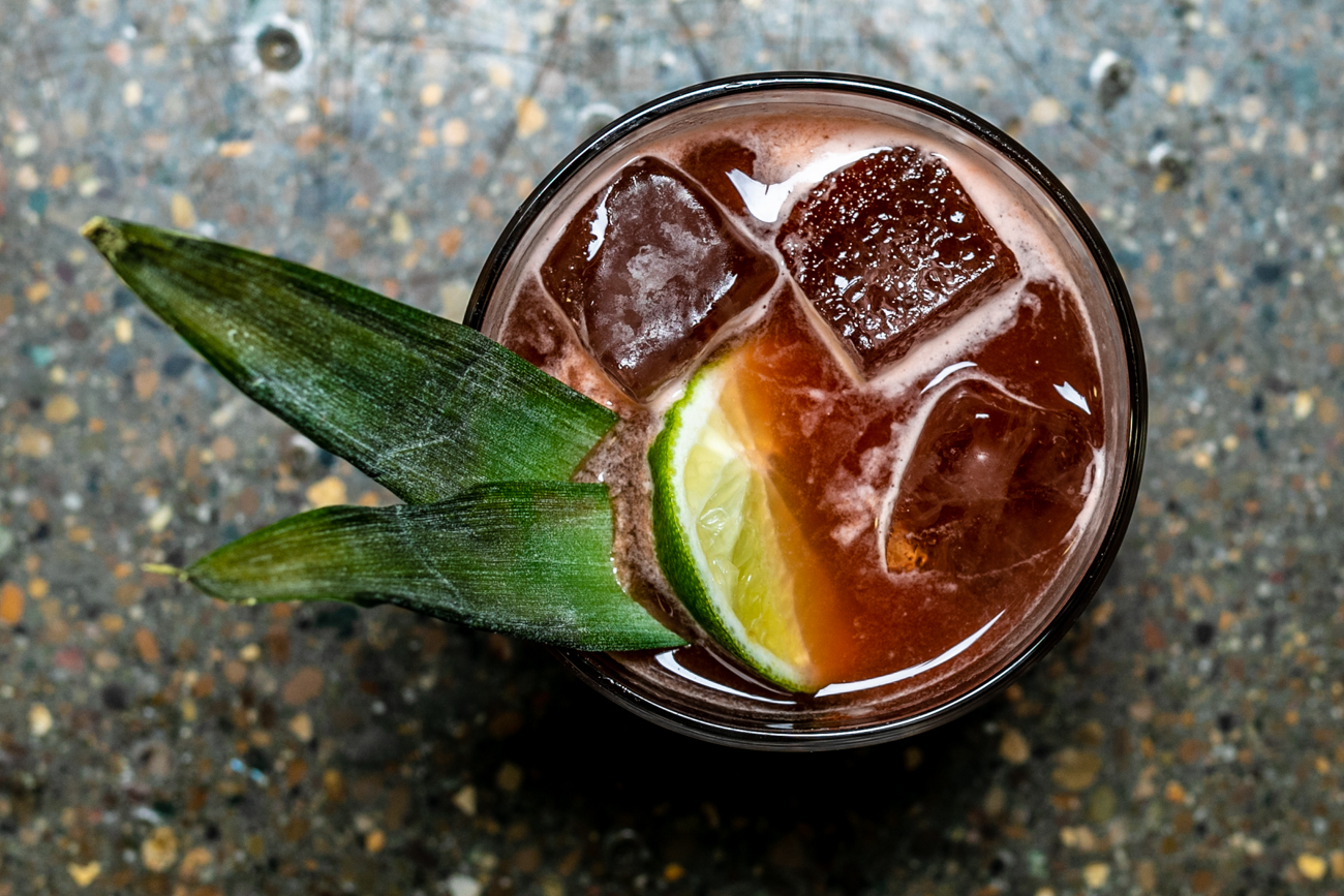 The Trinidad: house-made angostura amaro, rye, orgeat, and lemon / Image: Amy Elisabeth Spasoff // Published: 1.24.19