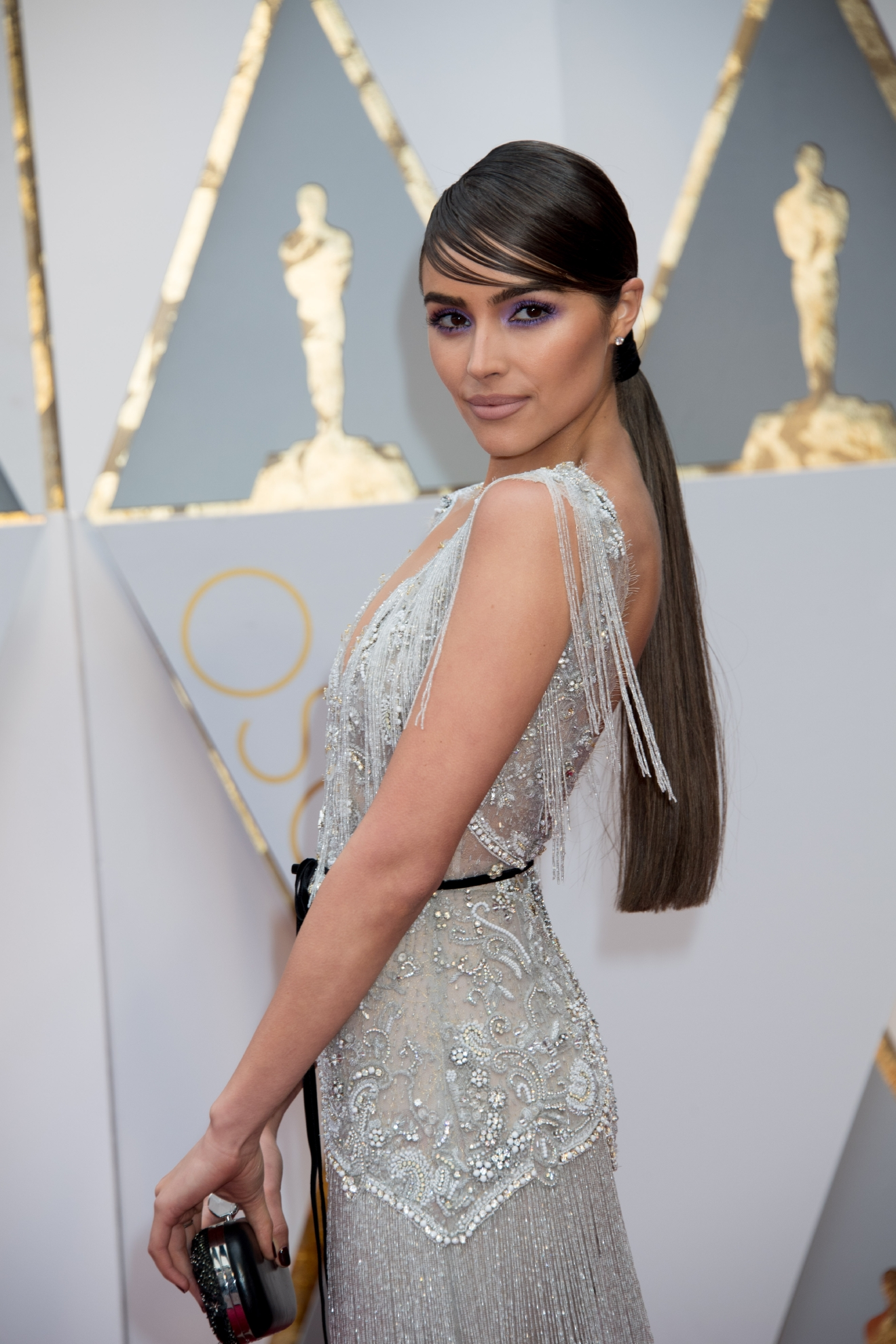 Olivia Culpo arrives at The 89th Oscars® at the Dolby® Theatre in Hollywood, CA on Sunday, February 26, 2017. (Michael Yada / ©A.M.P.A.S.)