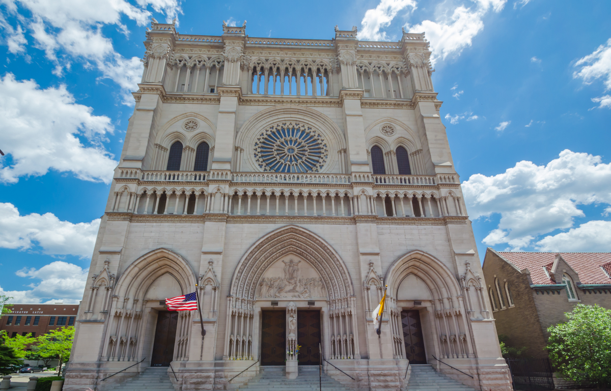 ANSWER: Cathedral Basilica of the Assumption at 1140 Madison Avenue in Covington. Its first services (Catholic) were held in 1901. / Image: Sherry Lachelle Photography // Published: 1.19.19
