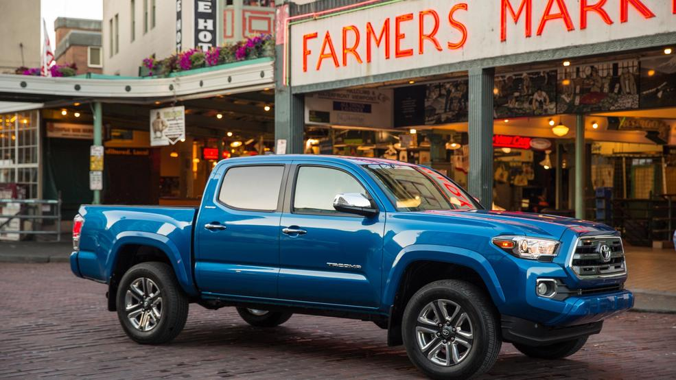 Toyota Tacoma Is Best Performer In Small Pickup Truck