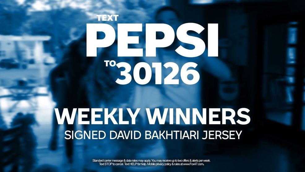 Pepsi Text to Win Contest Rules