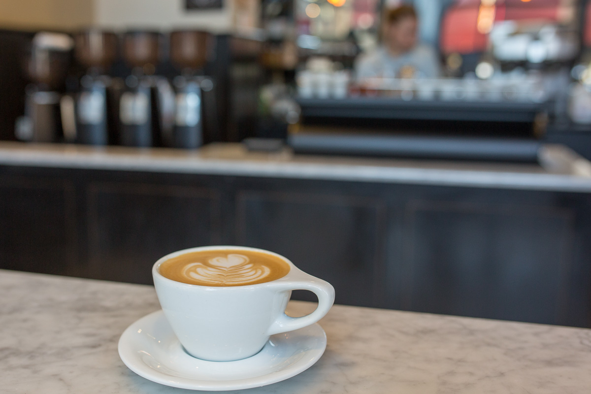 Barista has several downtown locations serving a choice of beans from different roasters, while we all know about Stumptown. (Image: Paola Thomas / Seattle Refined)