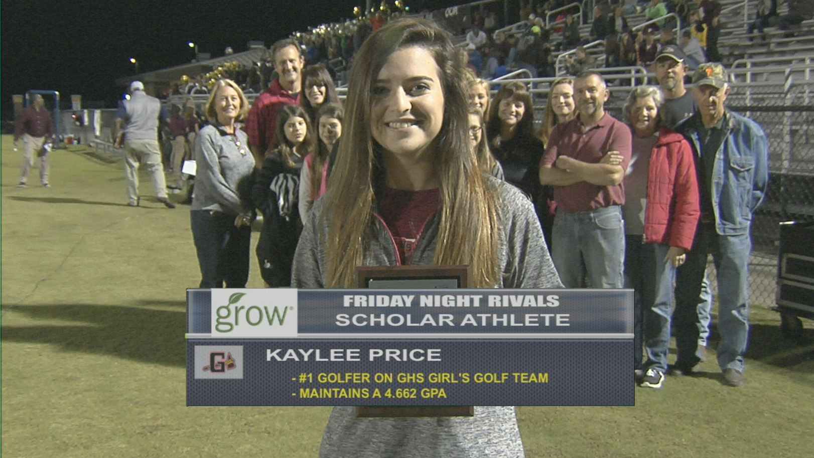 Kaylee Price - Grow Financial Federal Credit Union Scholar Athlete