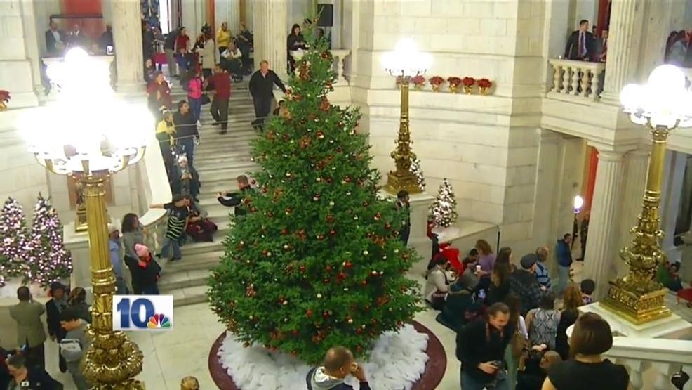 Christmas Tree Lighting At RI State House Set For Dec 1 WJAR - Christmas Trees Ri