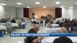 Salute to First Responders: Annual first responders breakfast