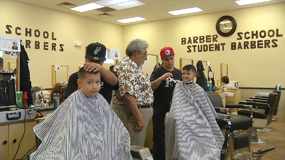 Free Haircuts To Needy Families Provided By El Pipo Barber College