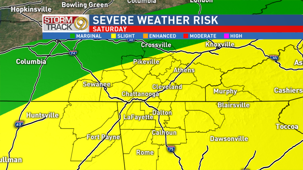 Stay Alert and Weather Aware Saturday | WTVC