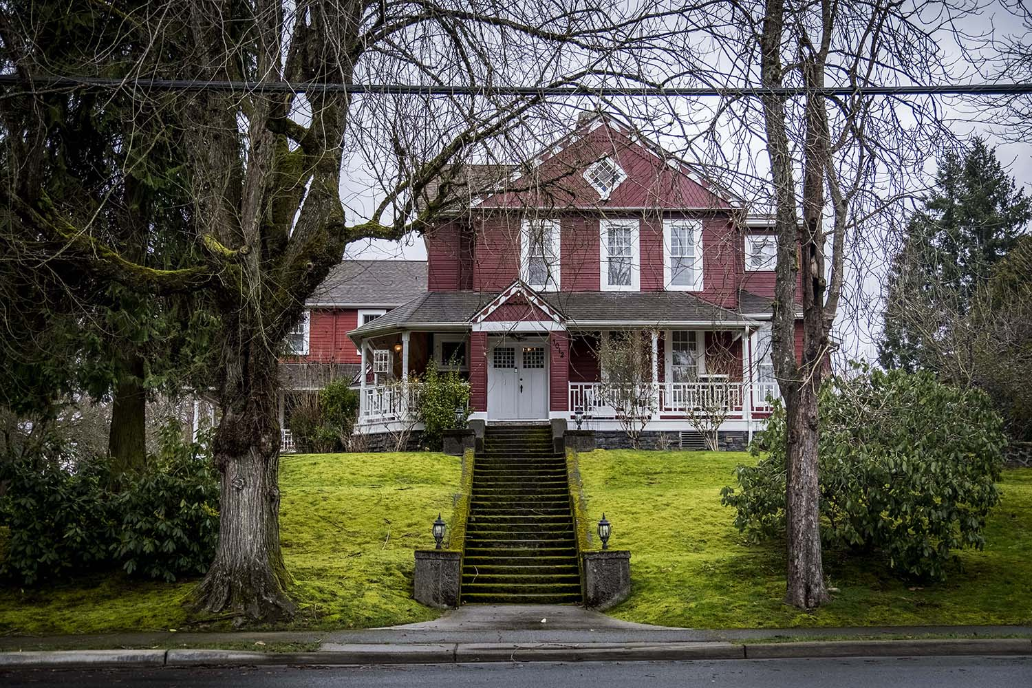 "<p>Billiard Room? Check. Special Pet entrance to master suite? Check. Stained Glass? It's everywhere! Built in 1888, this 13,000 square foot Snohomish home is a 9 bed/6.5 bath property loaded with character and boasts three staircases, hidden rooms, a wrap-around porch, dumbwaiter, multiple ballrooms, computer server room, home theater and a speakeasy-style basement bar with a see through table over the home's original well.{&nbsp;} It's listed for $2,900,000 by Windermere's Dena VanDuine, more info{&nbsp;}<a  href=""http://denavanduine.withwre.com/listing/WA/Snohomish/1012-Fourth-Street-98290/113396442"" target=""_blank"" title=""http://denavanduine.withwre.com/listing/WA/Snohomish/1012-Fourth-Street-98290/113396442"">online</a>. (Image: John Prentice / Seattle Refined)</p>"