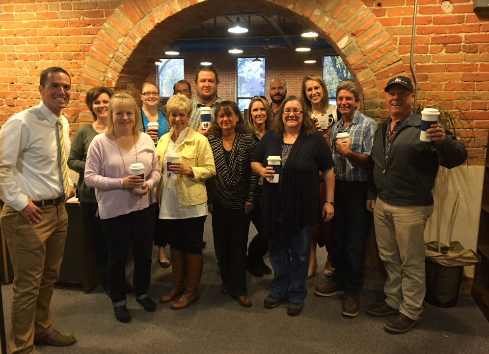 Mugshot Mondays: This week's winner is Idaho State Public Works in Boise! Kelsey Anderson  & Bryan Levin helped deliver free Dutch Bros. Coffee and KBOI mugs! Want your business to be next? Enter HERE: http://bit.ly/1UoKo3X