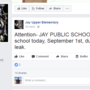 Jay Public Schools closed Friday due to water issue