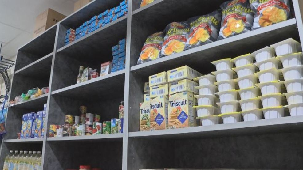 New Horizons High School Opens Up Food Pantry To Columbia